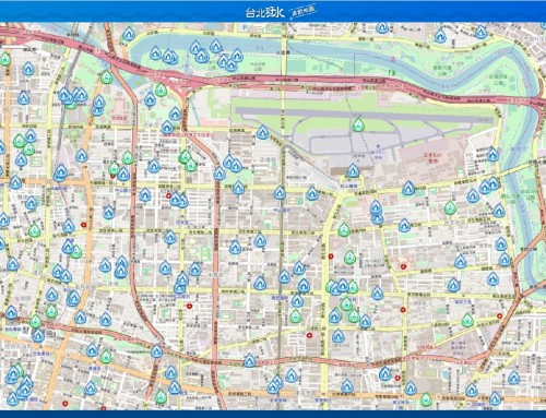 台北好水-直飲地圖